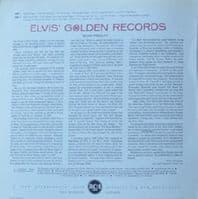 ELVIS PRESLEY Elvis' Golden Records Vinyl Record LP RCA Victor 1965